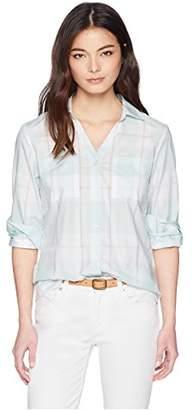 Pendleton Women's Petite Rockaway Cotton Check Shirt