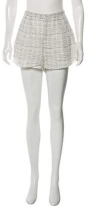 Haute Hippie Silk Mini Shorts