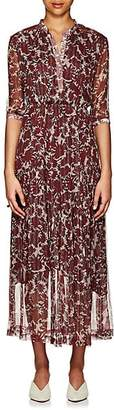 Warm Women's Ladyland Silk-Blend Maxi Dress - Wine