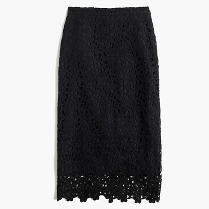 J.Crew Collection lace skirt