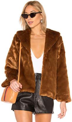 Amuse Society Faux Fur Ever Mine Jacket