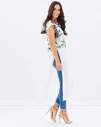 Summertime Contrast Tunic