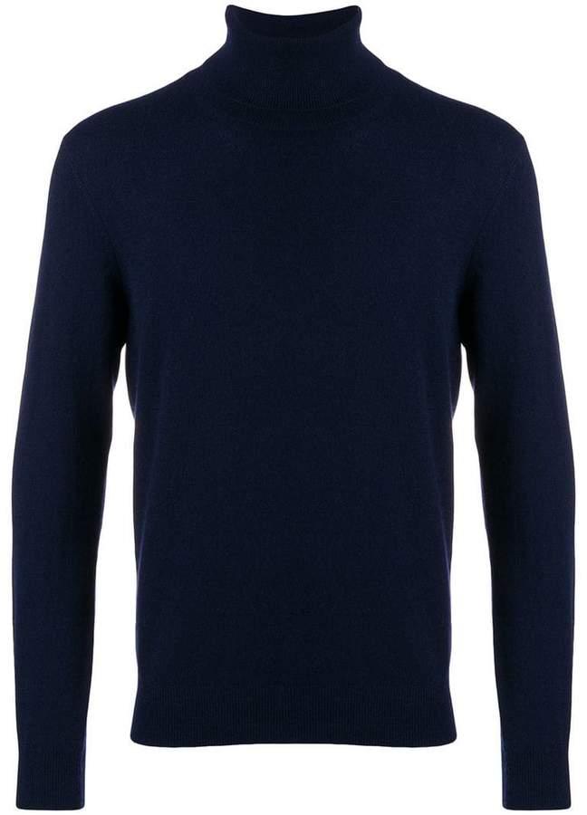 Laneus cashmere roll-neck sweater