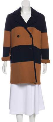 Tory Burch Merino Wool Short Coat
