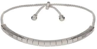 JEN HANSEN - Square Link Slider Bracelet - Silver