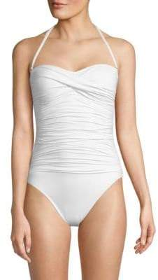 Island One-Piece Bandeau Swimsuit