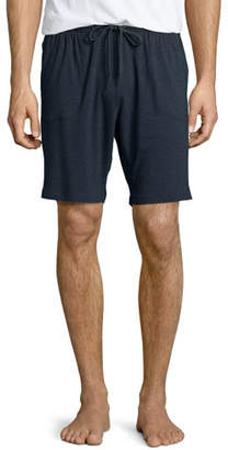 Derek Rose Jersey Lounge Shorts, Anthracite