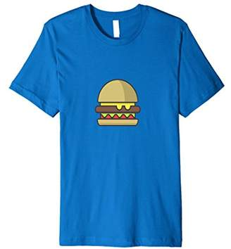 Cheeseburger T-Shirt. Hamburger Shirt.