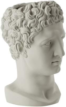 Hermes SOPHIA-ENJOY THINKING Head Vase Ice Grey
