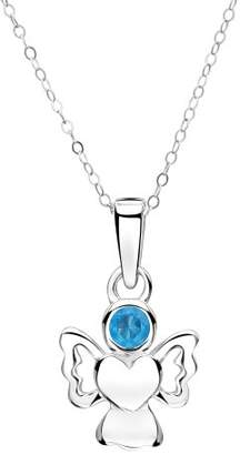 Jo for Girls December Birthstone Angel - Simulated Turquoise