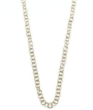 """Temple St. Clair 18K Yellow Gold Round Link Necklace Chain/32"""""""