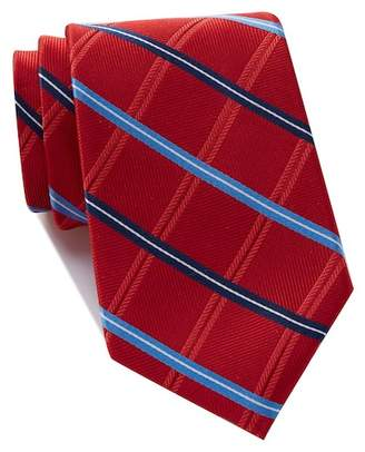 Nordstrom Rack Rhine Check Extra Long Silk Tie