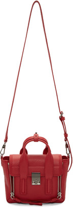 3.1 Phillip Lim Red Mini Pashli Satchel $695 thestylecure.com