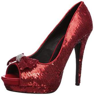 f0256cb17e866 The Highest Heel Women's Wizard of Oz Dorothy Peep Toe Platform