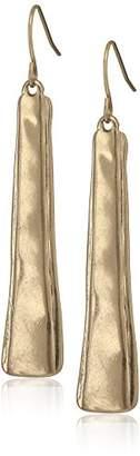 The Sak Layered Paddle Drop Earrings