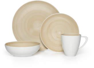 Mikasa Beige 48 Piece Dinnerware Set