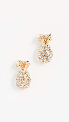 Kate Spade By The Pool Pineapple Mini Studs