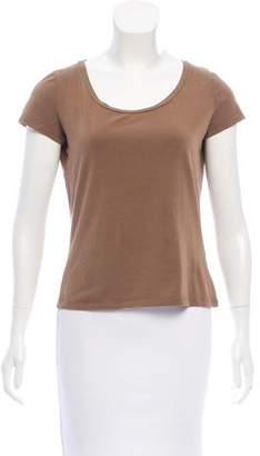 Max Mara Weekend Short Sleeve Scoop Neck T-Shirt
