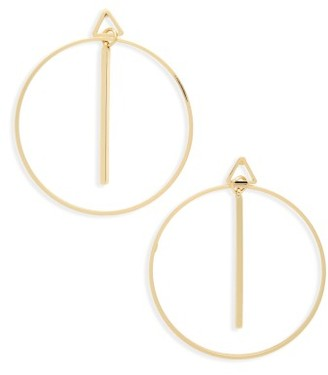 Women's Cara Geometric Earrings $22 thestylecure.com