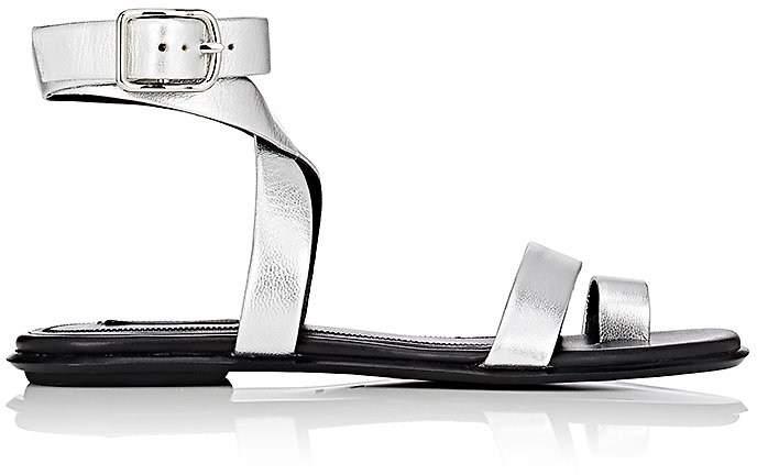 Alexander Wang Women's Naura Metallic Leather Sandals