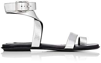 Alexander Wang WOMEN'S NAURA METALLIC LEATHER SANDALS