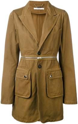 Givenchy longline military blazer