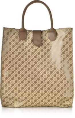 Gherardini Signature Coated Canvas Softy Foldable Tote Bag