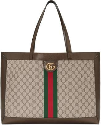 c164b9cc605 Gucci Gg Tote - ShopStyle