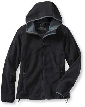 L.L. Bean L.L.Bean Women's Wind Challenger Fleece, Hooded Jacket