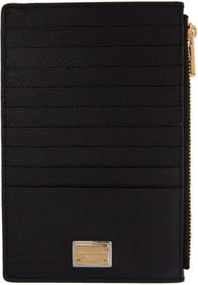 Dolce & Gabbana Black Multiple Card Holder