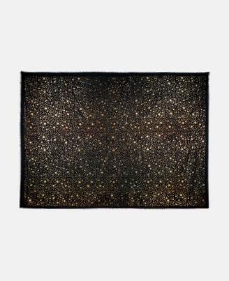Stella McCartney black star print scarf
