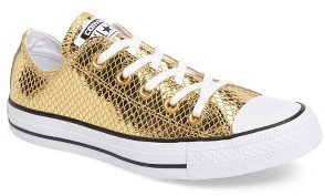 Women's Converse Chuck Taylor All Star Snake Ox Sneaker $79.95 thestylecure.com