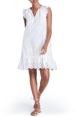 Madewell Eyelet Garden Dress $138 thestylecure.com