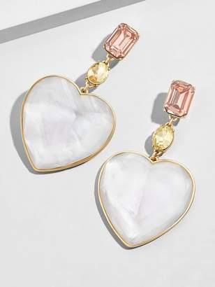 BaubleBar Amaya Heart Drop Earrings