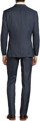 English Laundry Men's Striped Two-Piece Suit