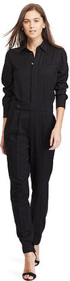 Polo Ralph Lauren Wool Jumpsuit $398 thestylecure.com