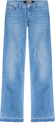 Karl Lagerfeld Cropped Jeans