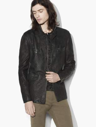 Vintage Inspired Leather Jacket $2,198 thestylecure.com