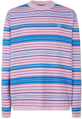 Acne Studios Nimah Striped Sweater