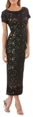 JS Collections Lace Maxi Dress