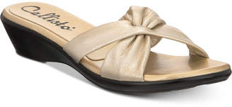 Callisto Staunton Slide Wedge Sandals, Created for Macy's Women's Shoes