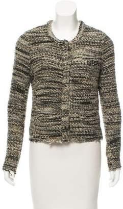 IRO Button-Up Knit Jacket