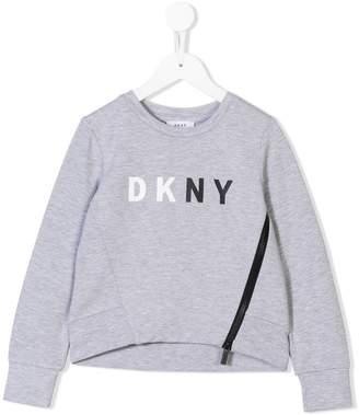 DKNY (ディー ケー エヌワイ) - Dkny Kids ロゴスウェットシャツ