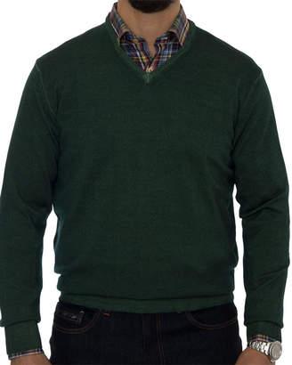 Robert Talbott Aptos Wool V-Neck Sweater