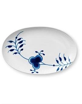 Royal Copenhagen Blue Fluted Mega Oval Dish 23Cm