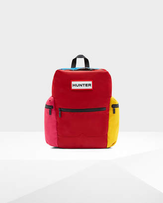 Hunter Color Block Top Clip Backpack