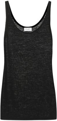 Saint Laurent Virgin-wool vest