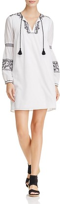 MICHAEL Michael Kors Embroidered Dress - 100% Exclusive $185 thestylecure.com