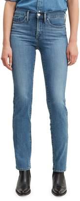 Levi's 314 Straight-Leg Hawaii Rays Jeans