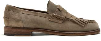 Burberry Tassel-detail suede loafers